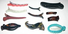 Novelty Alligator Jaw Claw Beak Fish Clip Women French Unique New Made in France