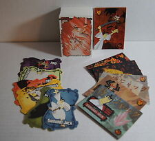 SAMURAI JACK Complete Base Card Set w/ FOIL & DIE-CUT Chase Card Sets & #jp0 too