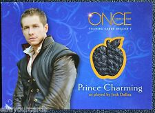 Disney Once Upon a Time M12 Prince Charming Costume Wardrobe Prop Trading Card