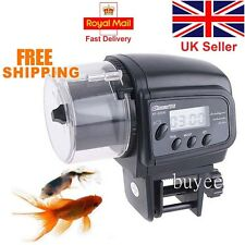 Aquarium Auto Fish Food Feeder EasyFeed Automatic Flake Pellet Tank