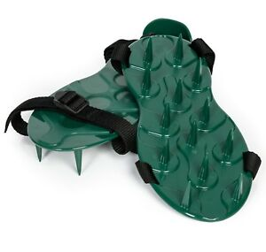 Etree Spiked Lawn Aerator Shoes Featuring Conical Spikes for Increased Aeration