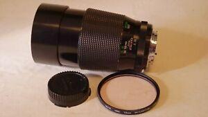 Vivitar Series 1 200mm F/3 - manual focus lens - Minolta SR MD MC mount