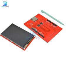28 Tft 240x320 Lcd Panel Spi Serial Port Module 5v33v With Pcb Ili9341