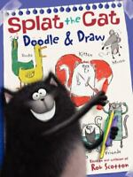 NEW Splat the Cat: Doodle & Draw: A Coloring & Acti.. 006211607X by Scotton, Rob
