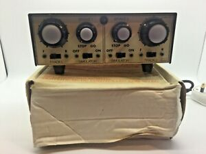 OO/N Gaugemaster Model DS Two Track Controller with Dual Simulator Boxed Superb