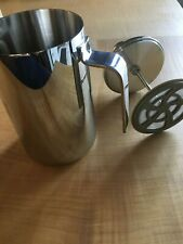 ALESSI Adagio French Press Coffee Maker Stainless Steel