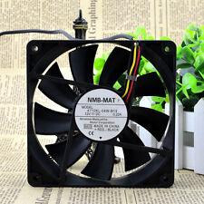 NMB 4710KL-04W-B19 V54 DC12V 0.22A 120x120x25mm 3-wire Server Square cooling fan