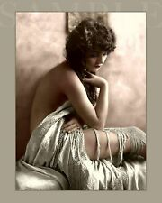 Vintage Nude Women 8X10 New Color Print Photo Picture Antique Old Burlesque Girl