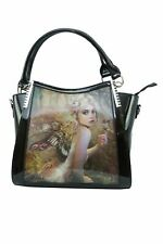 Caszmy Fashion Handbag Touch Of Gold Angel Fairy 3D Fantasy Lenticular Bag