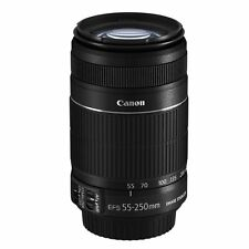 Canon EF-S 55-250mm f/4-5.6 IS II Lens White Box 55-250 for 80D 760D 7D 750D NEW