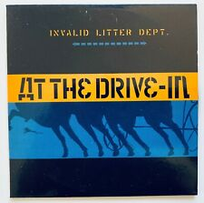 AT THE DRIVE-IN - INVALID LITTER DEPT. - 2001 EUROPE RELEASE - CD SINGLE PROMO