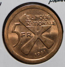 Katanga 1961 5 Francs  292047 combine shipping