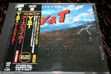 Y&T Earthshaker !!! POLYDOR REC JAPAN OBI MUSSS
