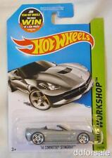 2014 Corvette Stingray 1/64 Die-cast Model From HW Workshop by Hot Wheels