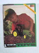 John Deere 1993 Toys Diecast Collectibles Catalog Booklet Brochure