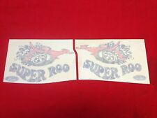 NEW PAIR OF SUPEROO DECALS SUITS FORD FALCON XW GT AND GTHO ALSO 69 GT CAPRI