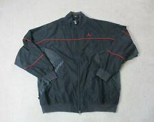 VINTAGE Jordan Jacket Adult 2XL XXL Black Red Jumpman Full Zip Basketball 90s*
