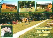 72676234 Altenbrak Harz Ferienhaeuser Zur Hohen Sonne Kinderspielplatz Pferde Al