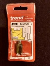 Trend Router Cutter straight two flute 12.7mm x 19mm