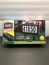 New Solar Lighted House Number Address Sign LED Sarah Peyton Outdoor