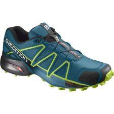 Scarpe Uomo Salomon Speedcross 4 Trail Running 42 colore Deep Lagoon Lime 46e5a6e9bc3