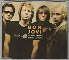 Bon Jovi - Exclusive Limited Edition Sampler **Rare EU 2 Track Promo Single**EX