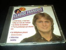 """CD """"CLAUDE FRANCOIS - L'HISTOIRE DE SA VIE, SES PLUS BELLES CHANSONS volume 3"""""""