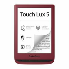 "NEW Pocketbook PB628 Touch Lux 5 Rubine RED 6"" E-ink Screen Book Reader WiFi 8GB"