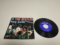 J- THE BEATLES HEY JUDE DISCO SINGLE 7 PORT VG DISC VG + SPAIN 1968