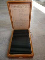 Rare Verascope F 40 stéréoscope 25 vues couleurs Italie en 1959/Sicile 1959 (46