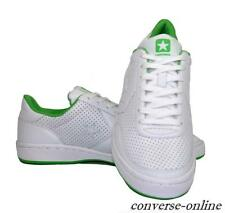 Homme Femme CONVERSE All Star PRO Maille Tennis en Cuir Blanc Baskets Taille UK 8