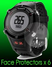 Garmin Approach S2 Golf watch face protectors x 6 protection