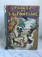 Fables de La Fuente J.J Grandville Librería Garnier Hermanos 1938