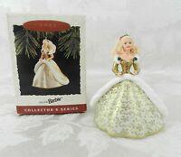 Hallmark Christmas Ornament - Holiday Barbie 1994 #2 Gold Dress