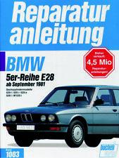 Reparaturanleitung BMW 5er E28 520i / 525i / 528i / 535i ab 9/81  @@ GÜNSTIG @@
