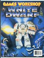 WHITE DWARF MAGAZINE #163 (GAMES WORKSHOP) WARHAMMER 40K! OOP IN MINT CONDITION!