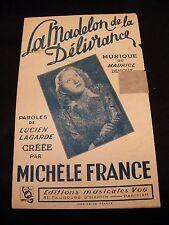 Partition La Madelon de la délivrance Michèle France Music Sheet