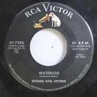 50'S & 60'S 45 Homer And Jethro - Waterloo / The Battle Of Kookamonga On Rca Vic