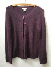 Urban Outfitters Lux Plum Cardigan Sweater Purple sz M Made in USA