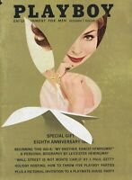 PLAYBOY DECEMBER 1961 Kathy Douglas Lynn Karrol Playmate House Party Vargas RCV1