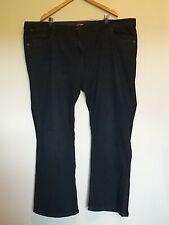 Womens Size 26 Joe Browns Dark Blue Black Denim Boot Leg Jeans <LR1256