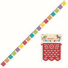 Mexican Fiesta Western Party Banner Birthday Party Hanging Decoration Garland