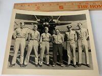 Original WWII 1950s Photo USAAF Air Force Pilots PT-17 Cadet Biplane Aircraft 3