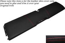 RED cuciture inferiori DASH PANEL cuoio pelle copertura adatta per smart forum 451 07-14