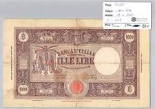 BILLET ITALIE - 1000 LIRES - 18-1-1947