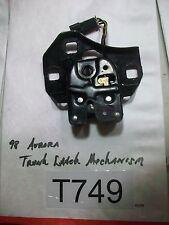 1998 Oldsmobile Aurora Trunk Latch Mechanism OEM #T749