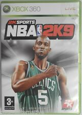OCCASION complet jeu NBA 2K9 xbox 360 microsoft game francais 2009 sport basket