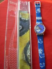 SWATCH GENT VIVE LA PAIX BY CORNEILLE GK206 1995 -  NEW - PERFECT SPECIAL ARTIST