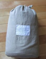 Restoration Hardware Stonewashed Cotton Linen King Size Sheet Set Prairie