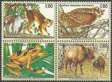 Timbres Animaux Nations Unies Genève 283/6 ** année 1995 lot 4168
